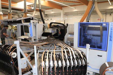 "HOMAG - HOLZMA - BARGSTEDT TFL 420 / HKL 380 / KFL 610 Flex Production Cell ""Lot Size 1"" with Laser i_03268230"