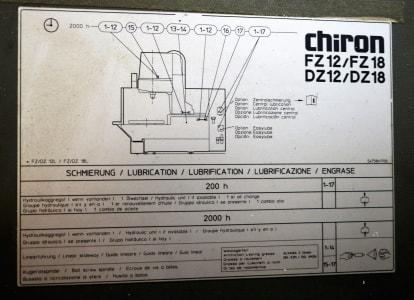 CHIRON FZ 12 S Magnum High Speed Vertical Machining Centre i_03394318