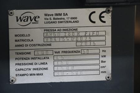 Машина за леене на пластмаси под налягане WAVE ARGO 280 R FIFO i_03403871