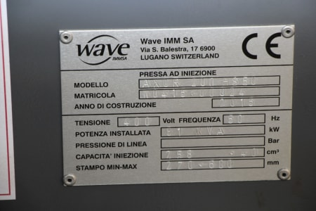 Машина за леене на пластмаси под налягане WAVE AXOR 200 HS 50 i_03403899