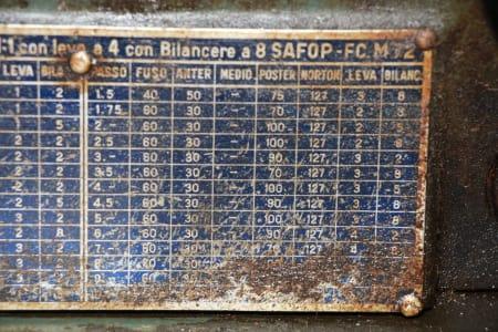 SAFOP FC 72 M Lathe for metal i_03411156