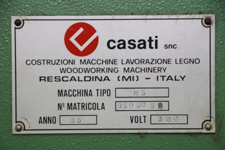 CASATI MS Dovetail joints machine i_03411207