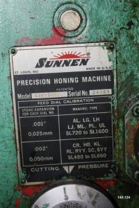 SUNNEN MB-1600-EMS Horizontal stroj za honanje i_03415964