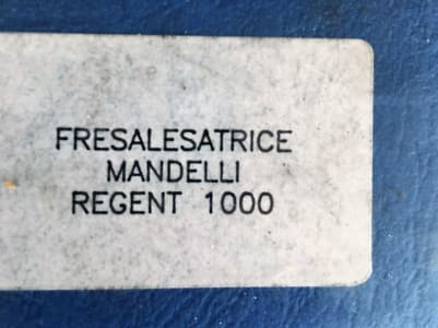 MANDELLI REGENT 1000 CNC Machining Center i_03422660