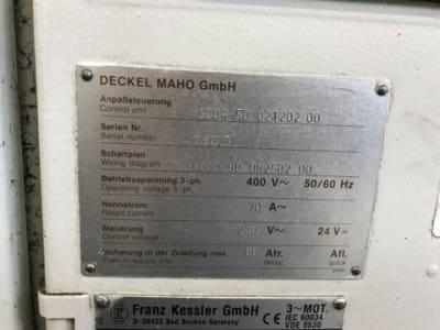 DECKEL MAHO DMU 50V Vertikales Bearbeitungszentrum i_03452522