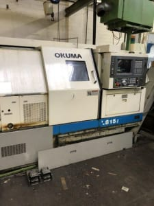 OKUMA LB15 CNC Lathe i_03452766