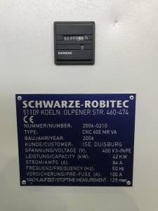 SCHWARZE-ROBITEC CNC 60 Ohýbačka trubek i_03475989