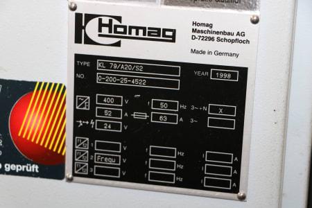 Кромкооблицовочный станок HOMAG LK 79/A20/S2 i_03481636