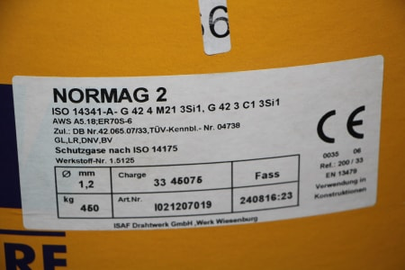 DZW NORMAG 2 MIG-MAG Welding Rod for Robots i_03486337