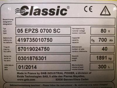 HYSTER J3.20XM EL Electric Four wheel Counterbalanced Forklift i_03502451