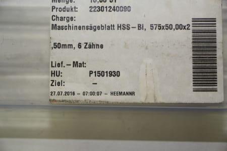 PRIMAT 10 Machine Saw Blades i_03510965