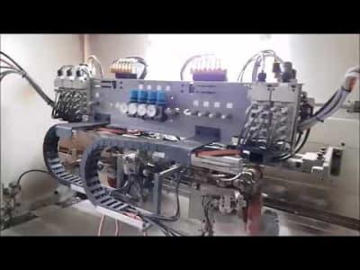 IMA COMBIMA SYSTEMS/I/R75/1480 Kantenanleimmaschine (Alu - PU - Roboter KUKA - Rückführung) v_03030748