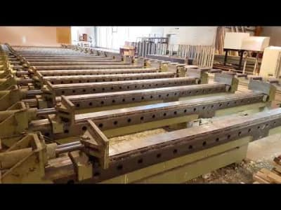 Prensa hidráulica ORMA MACCHINE SPL-180-20 for Glulam Uprights v_03104776