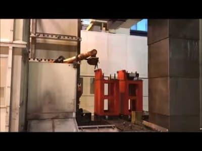 2 x INNSE BERARDI Atlas 3 RMI Portal Milling Machines with 5-fold pallet station v_03148353