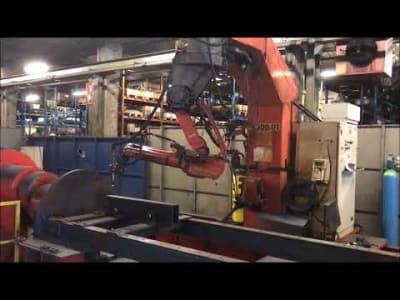 Robot combinado de soldadura y corte por plasma v_03154867