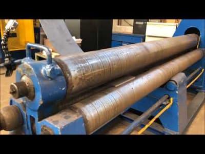 Three-Roll Plate Bending Machine v_03212616