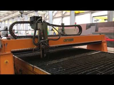 OXYSER PUENTE 4000 DM Oxycut and Plasma Cutting Machine v_03450131