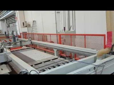 MAC MAZZA MCT-NC Panel saw & Angular plant machine with unloading system v_03470321
