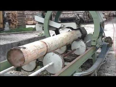 KURATLI / STÜRM + CO Debarking machine v_03475999