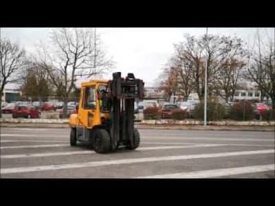 TCM FG45T8 Gas Four Wheel Counterbalanced Forklift v_03504260