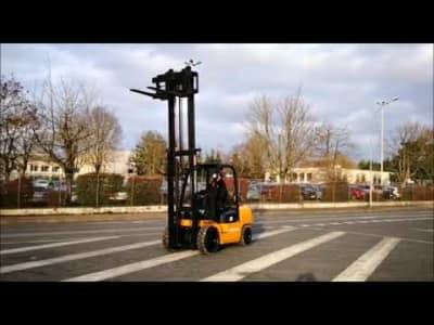 HANGCHA R35G Gas Four wheel Counterbalanced Forklift v_03504285