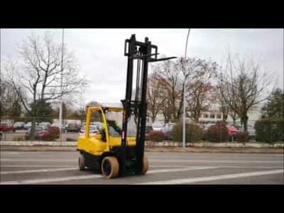 HYSTER H4.00FT5 Diesel Four Wheel Counterbalanced Forklift v_03504286
