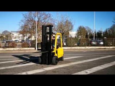 HYSTER J3.20XM EL Electric Four wheel Counterbalanced Forklift v_03527792