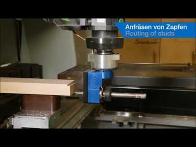 Agrégat de fraisage pour boîtier de serrure BENZ type FORTE v_03528014