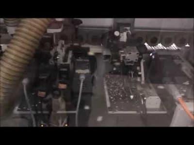 BRANDT OPTIMAT KDF 530 C Edgebander with Schugoma HOT-AIR-SYSTEM KANTENKING v_03543555